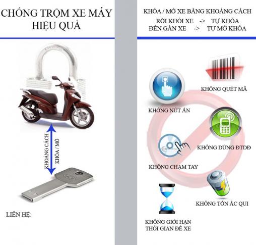 Model: Chống trộm xe máy