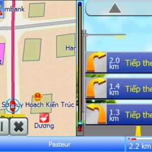 Thẻ Micro SD 4Gb – Model: Phần mềm dẫn đường Navi Info