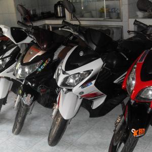 Bắt gọn ổ nhóm của gần 30 vụ trộm xe máy