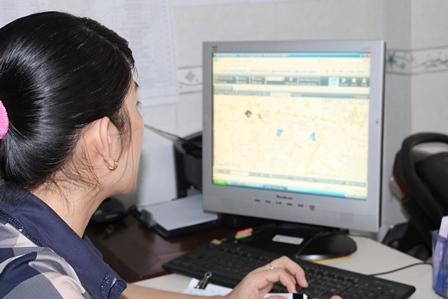 Xe ôm gắn GPS, dịch vụ mới ở TPHCM